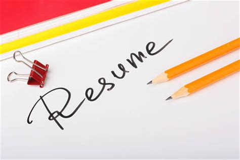 Online jobs for resume writers